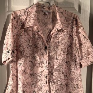 Dressbarn women blouse, like new